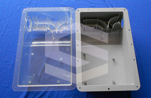 Electronic cover injection mold