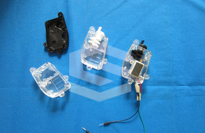 electrical part injection molding project