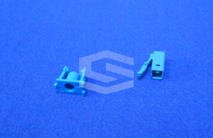 Fiber optic part injection mold