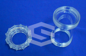 Hemodialysis housing part injection mold
