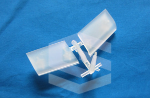 10% transparent part PMMA injection mold
